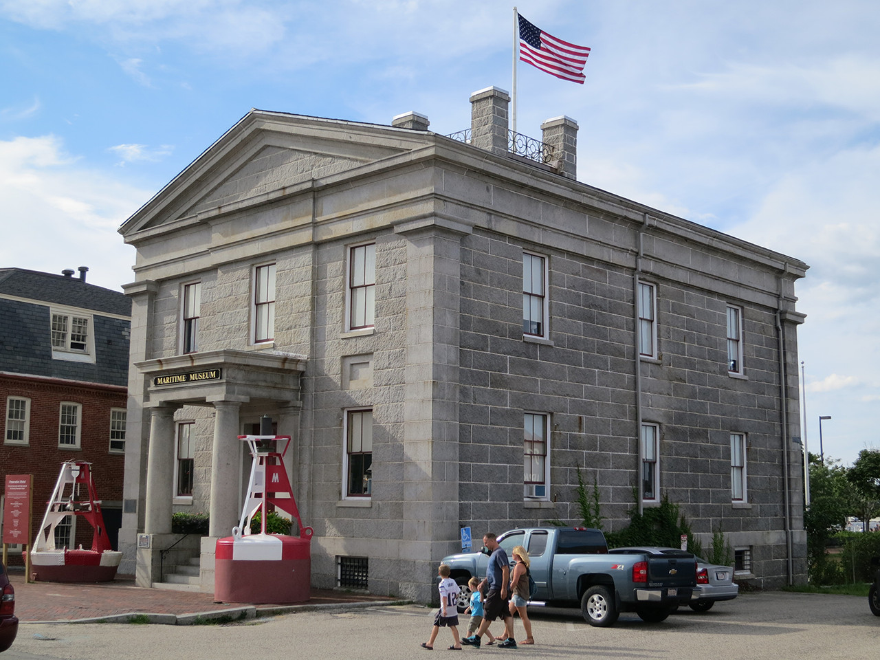 Custom House Maritime Museum, Newburyport MA