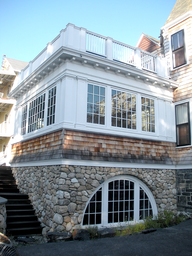 Somerville Shingle Style kitchen addition