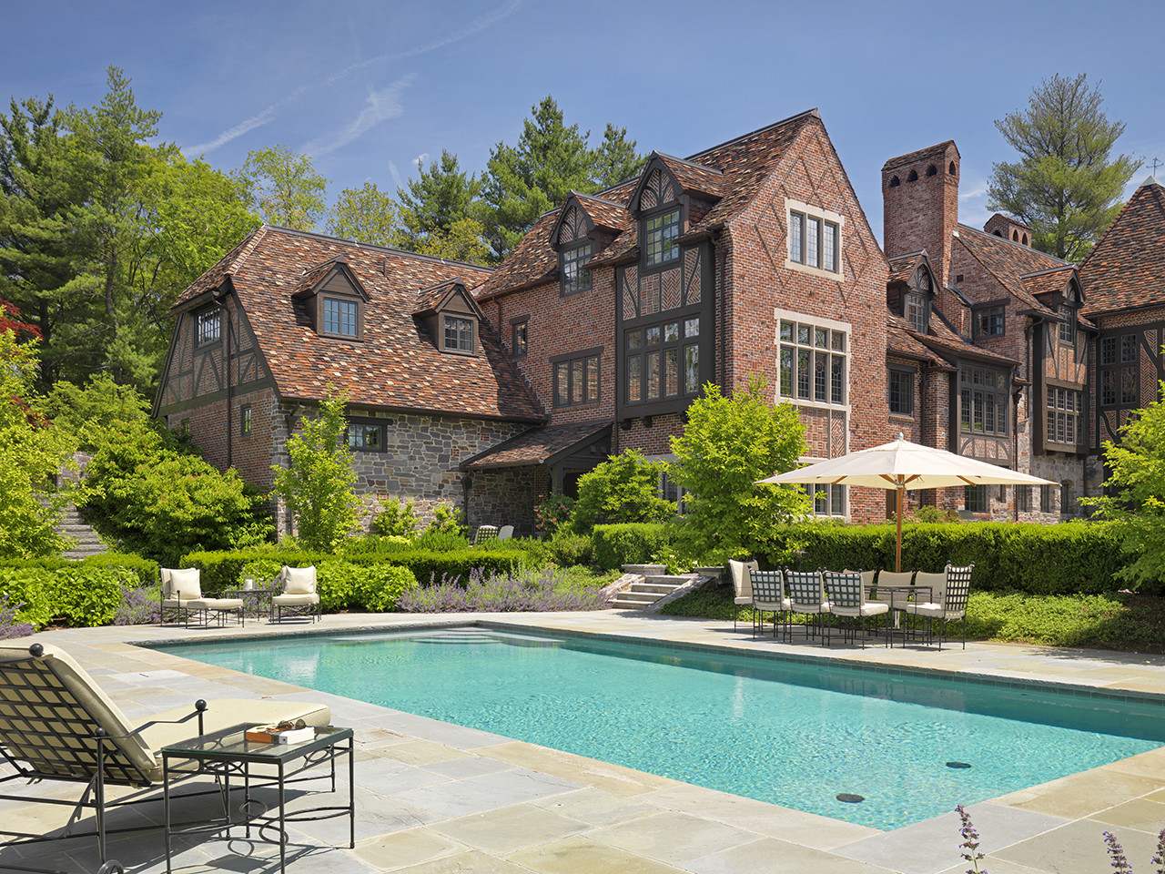 Tudor revival house merrimack design architects pllc for Landscape design guide