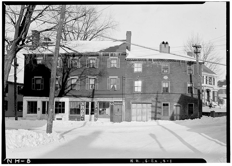 Simeon Folsom House, Exeter, New Hampshire