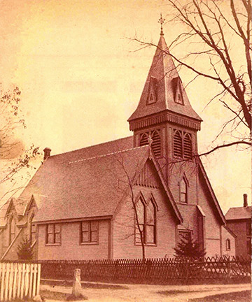 UU Church Exterior, 1845
