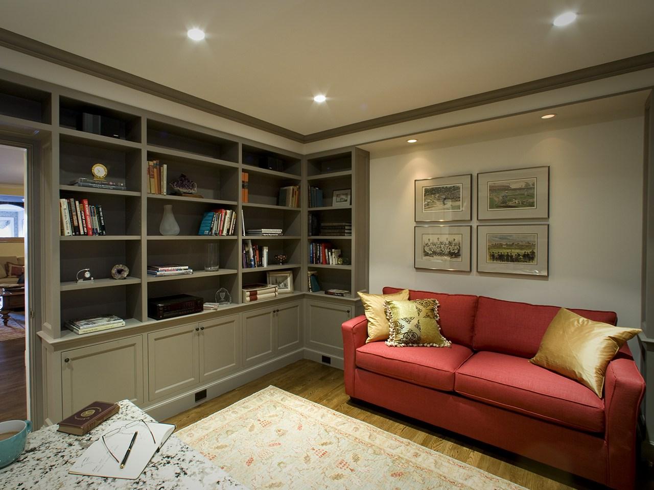 Boston Townhouse, livingroom