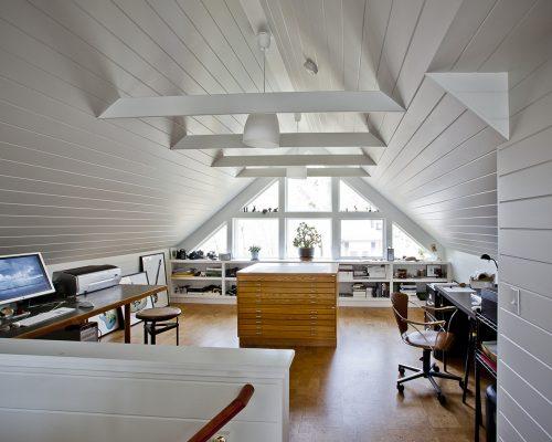 Photographer's Studio Interior Renovation By Merrimack Design Architects
