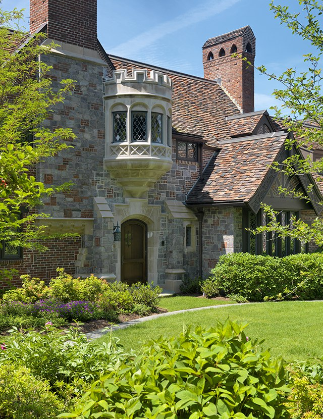 Tudor Revival House Merrimack Design Architects Pllc