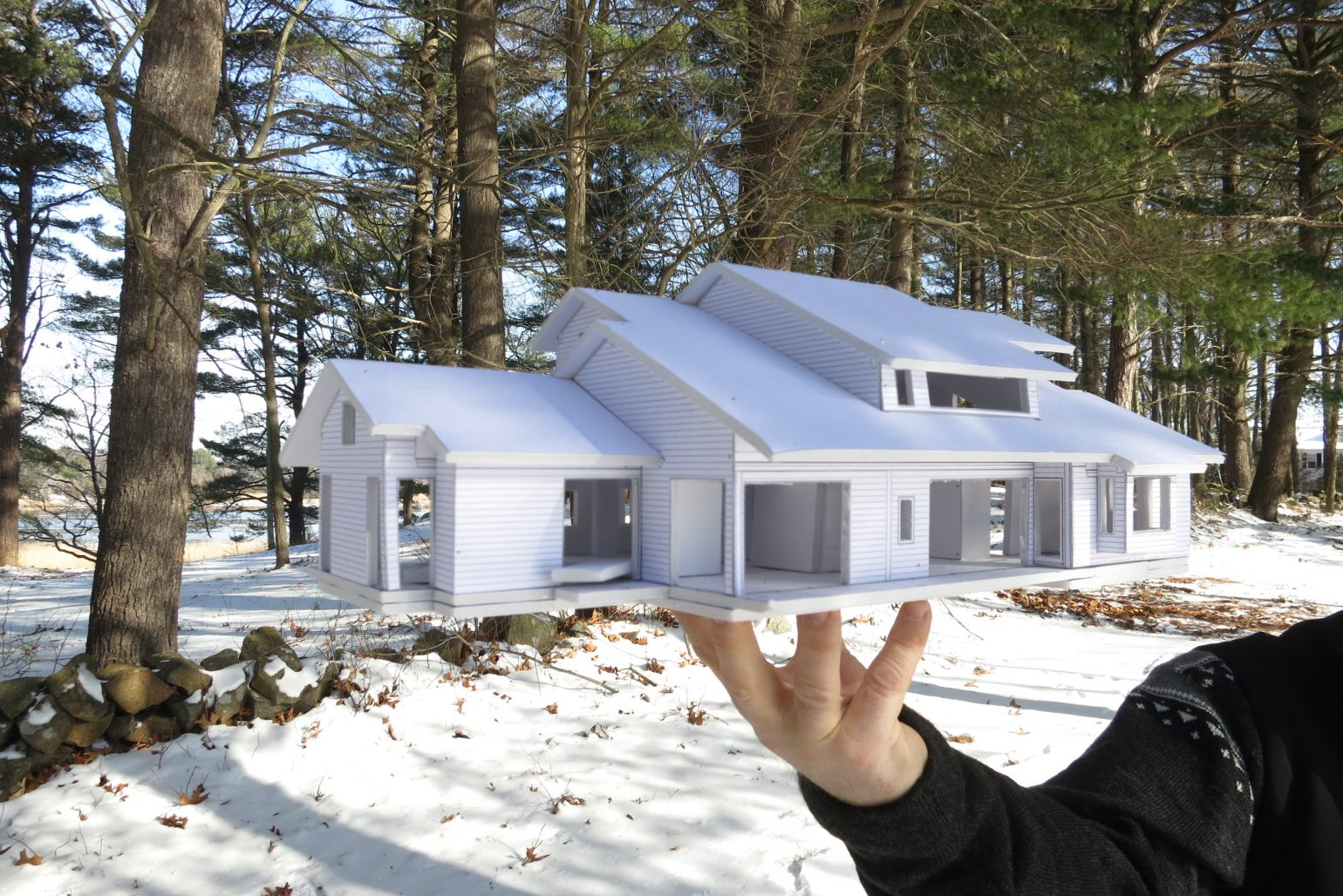 Japanese House Merrimack Design Architects Pllc